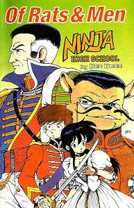 NINJA HIGH SCHOOL: OF RATS AND MEN Collected Volume (1991) (Ben Dunn) (1)