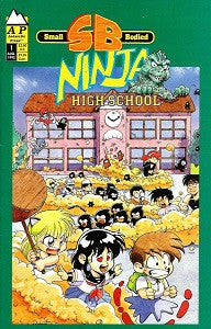 SB NINJA HIGH SCHOOL #1 (1992) (Robert DeJesus) (1)