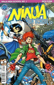 NINJA HIGH SCHOOL Version 2 #1 (1999) (Ben Dunn) (1)