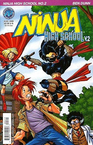 NINJA HIGH SCHOOL Version 2 #2 (1999) (Ben Dunn) (1)