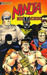 NINJA HIGH SCHOOL. #16 (Eternity) (1989) (Cain & Dunn) (1)