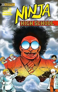 NINJA HIGH SCHOOL. #20 (Eternity) (1990) (Ben Dunn) (1)