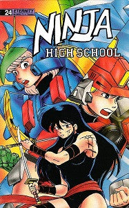 NINJA HIGH SCHOOL. #24 (Eternity) (1991) (Ben Dunn) (1)