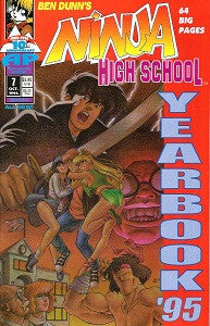 NINJA HIGH SCHOOL YEARBOOK #7 (1995) (1)
