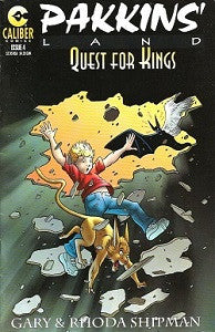 PAKKINS' LAND: QUEST FOR KINGS #4 (1997) (Gary & Rhoda Shipman) (1)