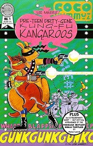 Pre-Teen Dirty-Gene KUNG-FU KANGAROOS #1 (1986) (Lee Marrs) (1)