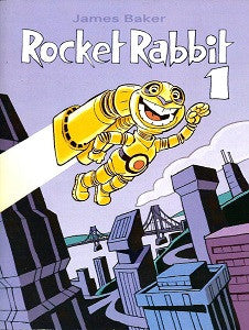 ROCKET RABBIT #1 (2005) (James S. Baker, autographed) (1)