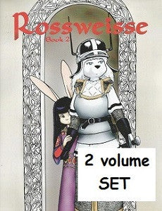 ROSSWEISSE Book 1 & Book 2 SET (2010) (Ted Sheppard)