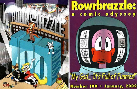 ROWRBRAZZLE. #100 (2009) (complete, Part 1 & 2)