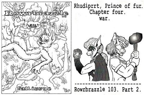 ROWRBRAZZLE. #103 (2009) (complete, Part 1 & 2) (includes RHUDIPRRT)