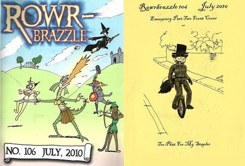 ROWRBRAZZLE. #106 (2010) (complete, Part 1 & 2)