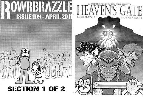 ROWRBRAZZLE. #109 (2011) (complete, Part 1 & 2) (includes RHUDIPRRT)