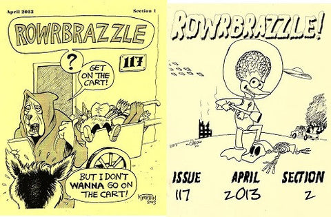 ROWRBRAZZLE. #117 (2013) (complete, Part 1 & 2)