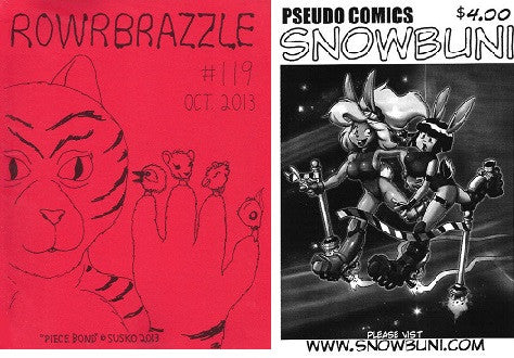 ROWRBRAZZLE. #119 (2013) (includes SNOWBUNI digest)