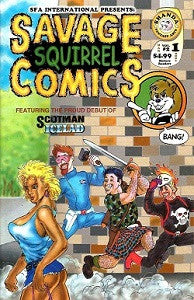 SAVAGE SQUIRREL COMICS #1 (2001) (Kjartan KARNO Arnorsson) (1)