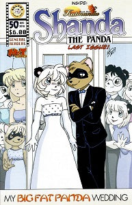 SHANDA. THE PANDA #50 (2018) (Curtis & Razorfox)