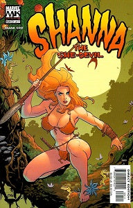 SHANNA THE SHE-DEVIL #1 (of 7) (2005) (Frank Cho) (1)