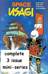 SPACE USAGI Vol. 1 #1, #2, #3 SET (1992) (Stan Sakai) (1)
