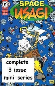 SPACE USAGI Vol. 3 #1, #2, #3 SET (1996) (Stan Sakai)