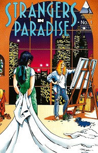 STRANGERS IN PARADISE Vol. 2 #1 (1994) (Terry Moore) (1)