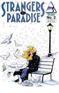 STRANGERS IN PARADISE Vol. 2 #2 (1994) (Terry Moore) (1)