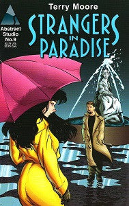STRANGERS IN PARADISE Vol. 2 #9 (1996) (Terry Moore) (1)