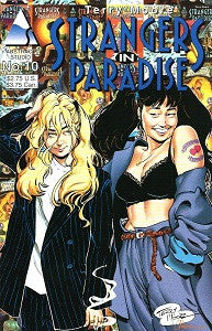 STRANGERS IN PARADISE. Vol. 2 #10 (1996) (Terry Moore) (1)