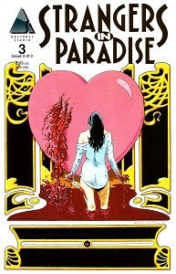 STRANGERS. IN PARADISE #3 (of 3) miniseries (1997) (Terry Moore) (1)