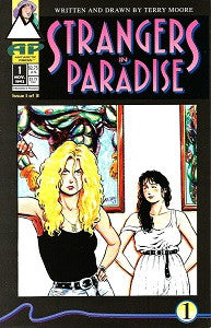 STRANGERS IN PARADISE. Vol. 3 #1 (1996) (Terry Moore) (1)