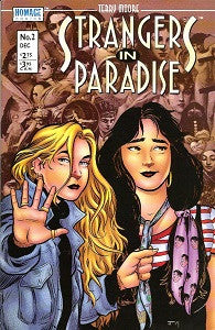 STRANGERS IN PARADISE. Vol. 3 #2 (1996) (Terry Moore)