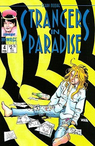 STRANGERS IN PARADISE. Vol. 3 #4 (1997) (Terry Moore) (1)