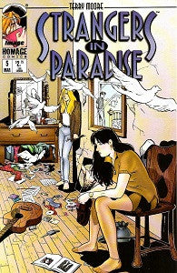 STRANGERS IN PARADISE. Vol. 3 #5 (1997) (Terry Moore) (1)