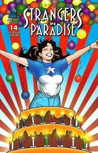 STRANGERS IN PARADISE.. Vol. 3 #14 (1998) (Terry Moore) (1)