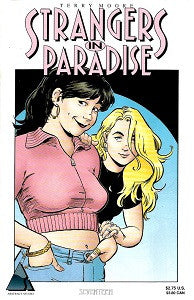 STRANGERS IN PARADISE.. Vol. 3 #17 (1998) (Terry Moore) (1)