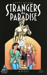 STRANGERS IN PARADISE.. Vol. 3 #18 (1998) (Terry Moore) (1)