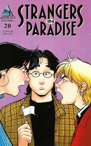 STRANGERS IN PARADISE.. Vol. 3 #20 (1998) (Terry Moore) (1)