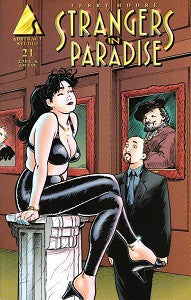 STRANGERS IN PARADISE.. Vol. 3 #21 (1999) (Terry Moore) (1)