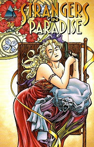 STRANGERS IN PARADISE.. Vol. 3 #24 (1999) (Terry Moore) (1)
