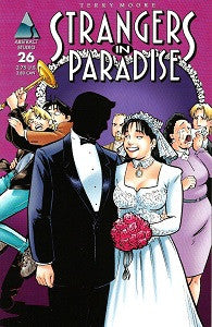 STRANGERS IN PARADISE.. Vol. 3 #26 (1999) (Terry Moore) (1)