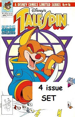 TALESPIN Limited Series #1 through #4 SET (1991) (1)