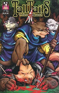 TALL. TAILS.: THIEVES' QUEST #4 (1998) (Calderon & Lage)