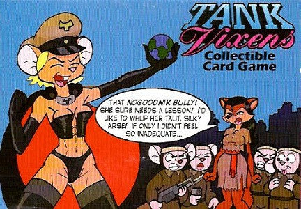 TANK VIXENS COLLECTIBLE CARD GAME (2001) (Kidd, Sagara, Panovich) (1)