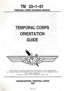 TEMPORAL CORPS ORIENTATION GUIDE (1993) (Mitch Marmel)
