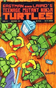 TEENAGE MUTANT NINJA TURTLES Vol.1 #41 (1991) (Matt Howrath) (1)