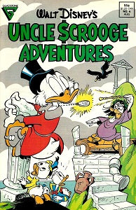 UNCLE SCROOGE ADVENTURES #6 (1988) (1)