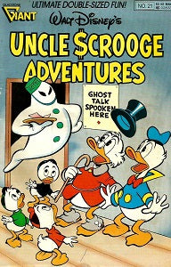 UNCLE SCROOGE ADVENTURES. #21 (1990) (SHOPWORN) (1)