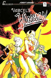VARCEL'S VIXENS #1 (of 3) (1990) (Susan Van Camp) (1)