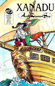 XANADU: ACROSS DIAMOND SEAS #1 (of 5) (1994) (Vicky Wyman)