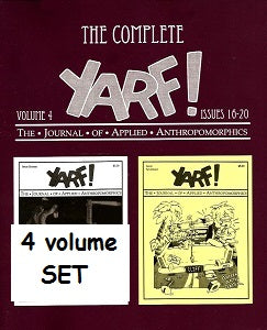 Complete YARF! Vol. 1 through #4 SET (2010-2018)