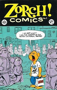 ZORCH! Comics #1 (1999) (Mike Kazaleh)